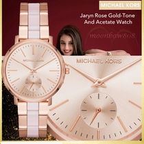 【2017新作】Jaryn Rose Gold-Tone And Acetate Watch