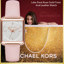 【2017新作】MICHAEL KORS Lake レザーWatch