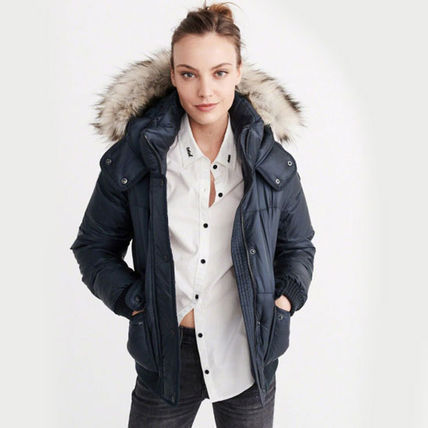 Abercrombie & Fitch ダウンジャケット・コート 新作★Abercrombie&Fitch Puffer Jacket★即発可能(4)