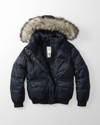 Abercrombie & Fitch ダウンジャケット・コート 新作★Abercrombie&Fitch Puffer Jacket★即発可能(6)