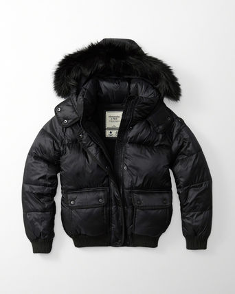 Abercrombie & Fitch ダウンジャケット・コート 新作★Abercrombie&Fitch Puffer Jacket★即発可能