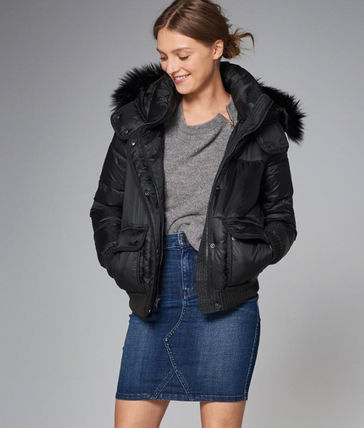 Abercrombie & Fitch ダウンジャケット・コート 新作★Abercrombie&Fitch Puffer Jacket★即発可能(2)