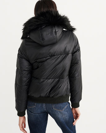 Abercrombie & Fitch ダウンジャケット・コート 新作★Abercrombie&Fitch Puffer Jacket★即発可能(3)
