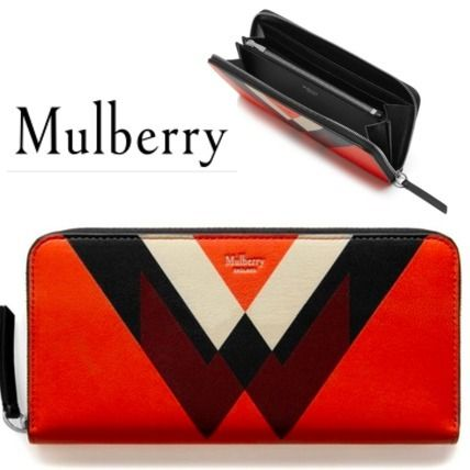 Mulberry 長財布 追跡送料込イギリス発★新作 Mulberry  8 Card Zip Around長財布