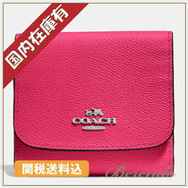 SALE 国内発送★COACH Small Wallet 折りたたみ財布 ピンク