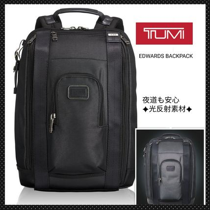 TUMI◆トゥミ 光反射素材バックパック EDWARDS BACKPACK