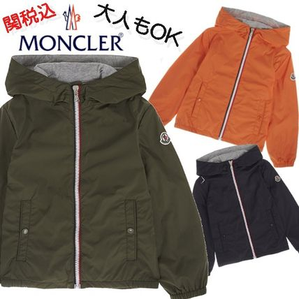 MONCLER アウター 大人もOK MONCLER ライトジャケットNEW URVILLE 4-12Y 関税込