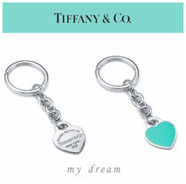 【Tiffany & Co】Return to Tiffany heart tag key ring,medium