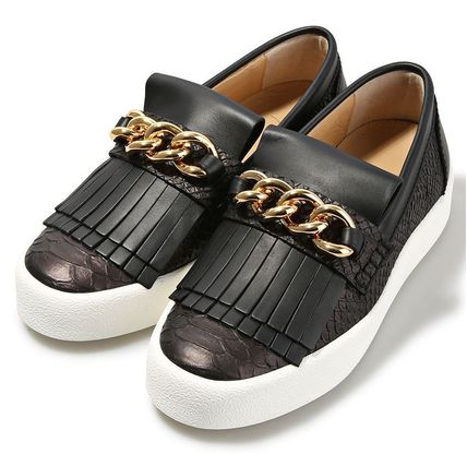 GIUSEPPE ZANOTTI スリッポン 【関税負担】 GIUSEPPE ZANOTTI MAY LONDON SLIP-ON(2)