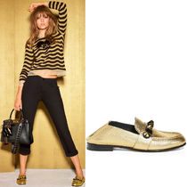 FE1361 'GOLD EDITION' STUDDED LOAFERS