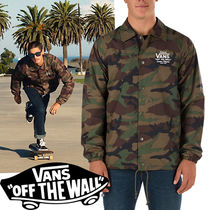 -  Vans -新  TORREY Camo Coaches Jacket Leaf 迷彩  即発