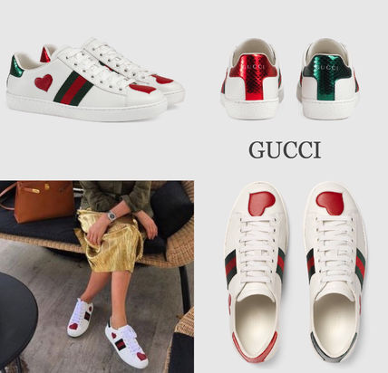 GUCCI heart with sneakers *