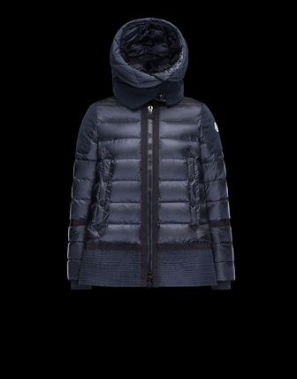 MONCLER 17 spring summer VIVIENNE down jacket Navy Blue