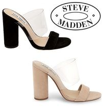 ★STEVE MADDEN クリアーバンドサンダル CHEERS★