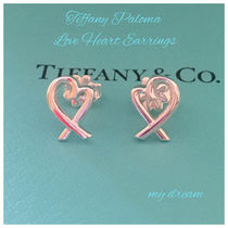 【Tiffany & Co】Paloma Picasso LOVE HEART EARRINGS
