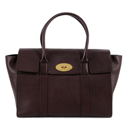 Mulberry トートバッグ 【関税負担】 Mulberry マルベリー BAYSWATER トートバッグ☆