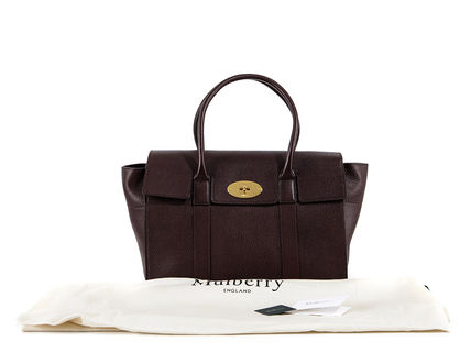 Mulberry トートバッグ 【関税負担】 Mulberry マルベリー BAYSWATER トートバッグ☆(9)