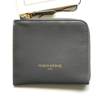 Allowed Maison Kitsune Leather Coin Purse / wallet