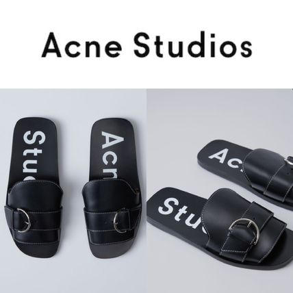 Acne Studios and sold required 17 SS leather slide sandal