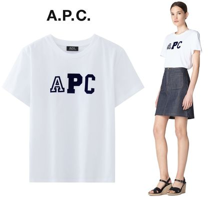 France from A.P.C. popular Collegienne T shirt logo