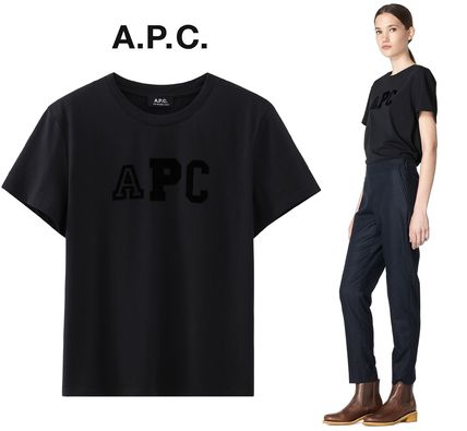 France from A.P.C. popular Collegienne T shirt logo with DN