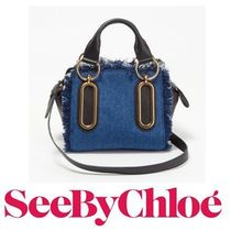 17SS新作 ☆See by Chloe☆ PAIGE Small 2wayバッグ DENIM♪