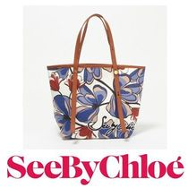 17SS新作☆See by Chloe☆ ANDY Flower Printed Canvas トート♪