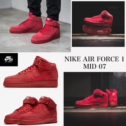 The most recent color limited edition Nike AIR FORCE 1 MID