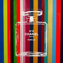 Shane Bowden NEW STRIPE CHANEL 51x51cm 純正フレーム可