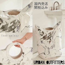Urban Outfitters(アーバンアウトフィッターズ) バス・ランドリー ◆送料無料◆Urban Outfitters*人気!マーブル 洗濯バスケット