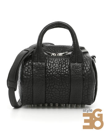 Mini ROCKIE OYSTER SOFT PEBBLE LEATHER BAG 20S0065 001