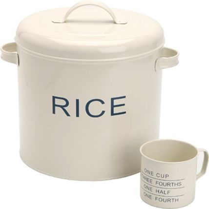 Hotel's new rice storage containers rice Stocker assembling