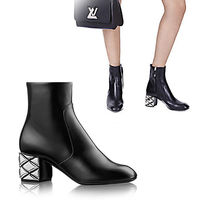 Louis Vuitton SILVER LIGHT ANKLE BOOT アンクルブーツ