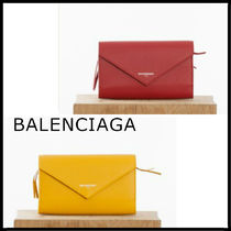 【VIPセール】セレブ愛用♪BALENCIAGA PAPIER MONEY ZIP財布