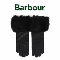 Barbour(バブアー) 手袋 BARBOUR レザーグローブ