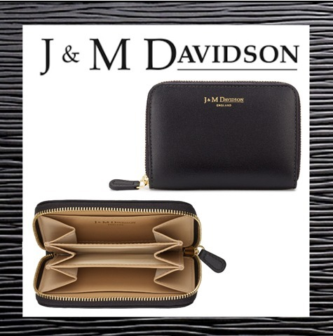 2017【J & M Davidson】★SMALL ZIP PURSE コイン&カードケース