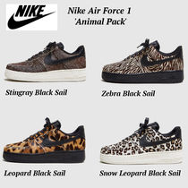 大人気!! 全4色!! ◆NIKE◆ Air Force 1 Lo Animal Pack