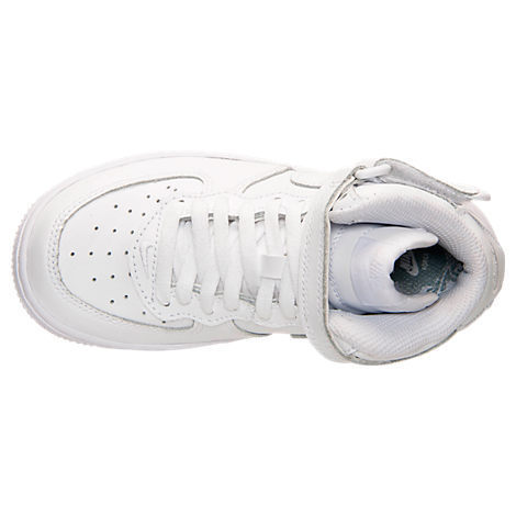 SS17 NIKE AIR FORCE 1 MID PS WHITE 16.5-22cm キッズ 送料無料