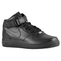 SS17 NIKE AIR FORCE 1 MID PS BLACK 16.5-22cm キッズ 送料無料