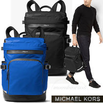 【新作】Michael Kors Kent Nylon Cycling Backpack 選べる2色