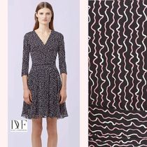 新作セール☆ダイアン DVF NEW IRINA COMBO WRAP DRESS