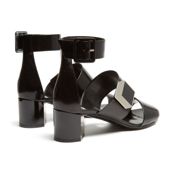 新作【Pierre Hardy】De D'Or block-heel sandals★サンダル