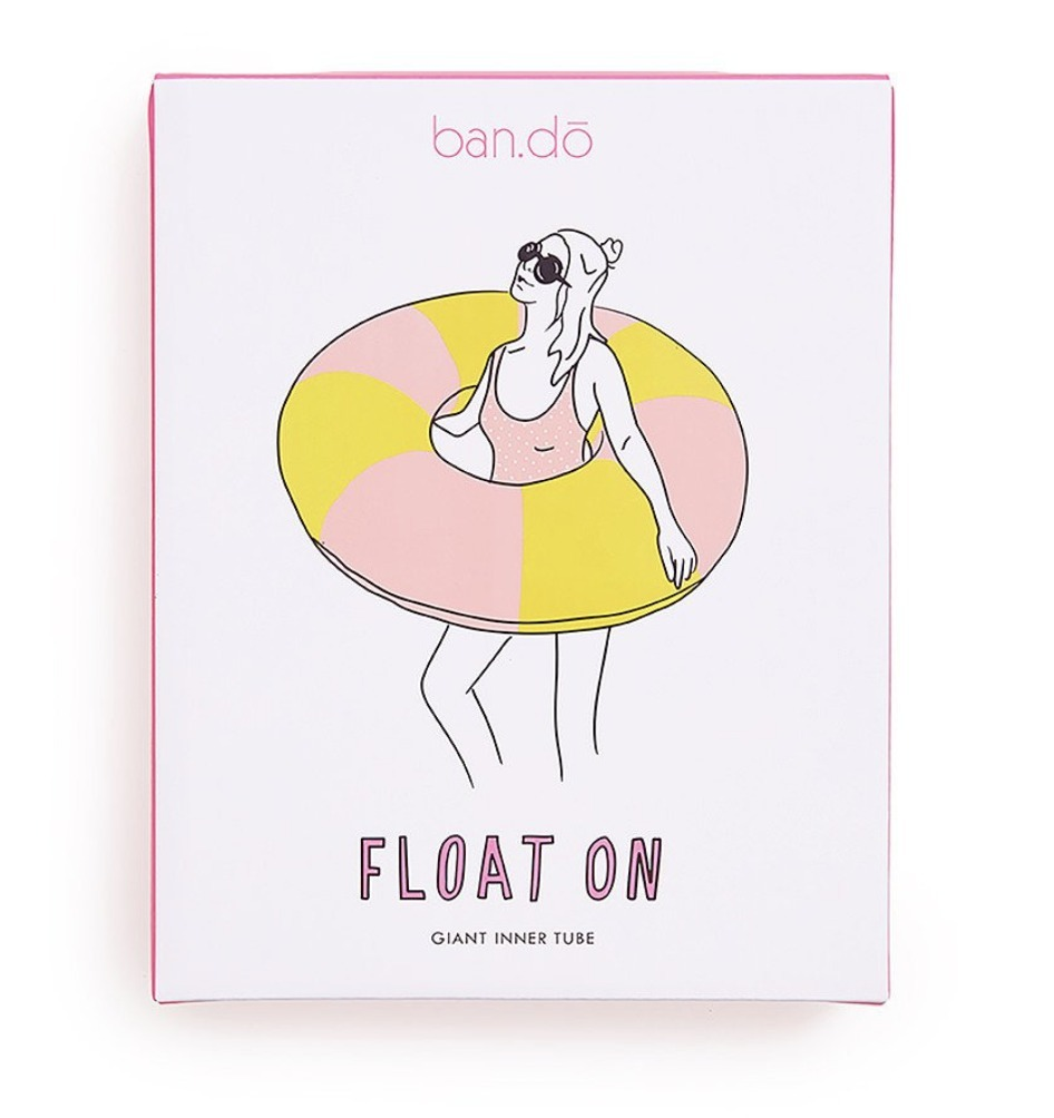 FLOAT ON GIANT INNERTUBE - BEVERLY STRIPE★間税込 国内発