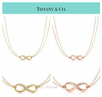 【Tiffany & Co】Infinity Pendant in 18k gold ,rose gold