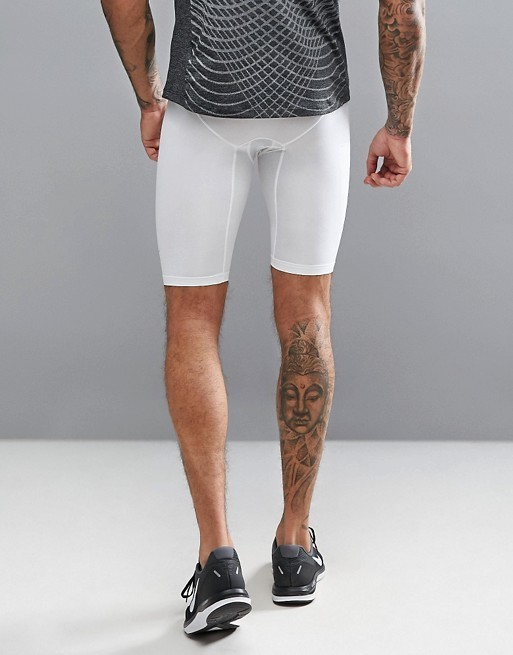 【国内/送関込】Nike Long Compression Shorts/White