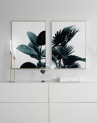 France issued NEW stylish Scandinavian design poster Palm