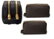 TOM FORD(トムフォード) トラベルその他 【送料込】 Tom Ford ★ Double-Zip Leather Toiletry Case
