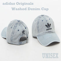 adidas Originals Washed Denim キャップ