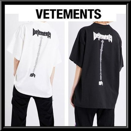 sold out inevitable / VETEMENTS over size staff t-shirt
