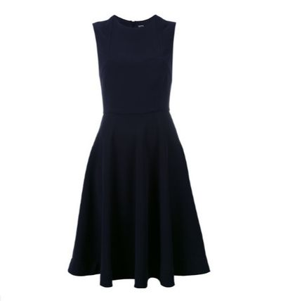 Dilthunderneiby sleeveless flare dress
